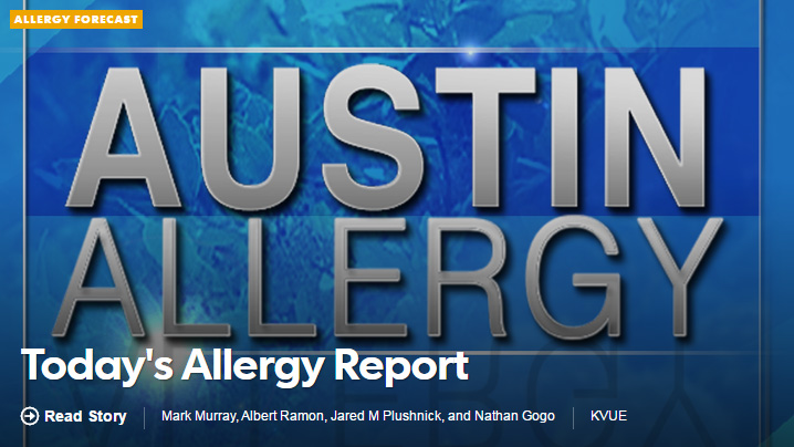 Austin Allergy - Today's Allergy Report