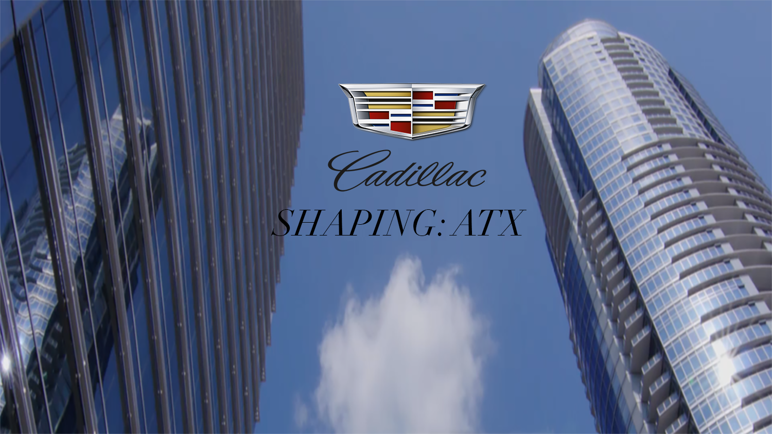 shaping atx brought to you by cadillac. Black Bedroom Furniture Sets. Home Design Ideas