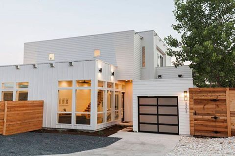Austin 39 s first container homes completed - Container home builders in texas ...