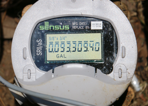 Electronic Water Meter Data Log : Kvue cedar park launches smart meters web portal