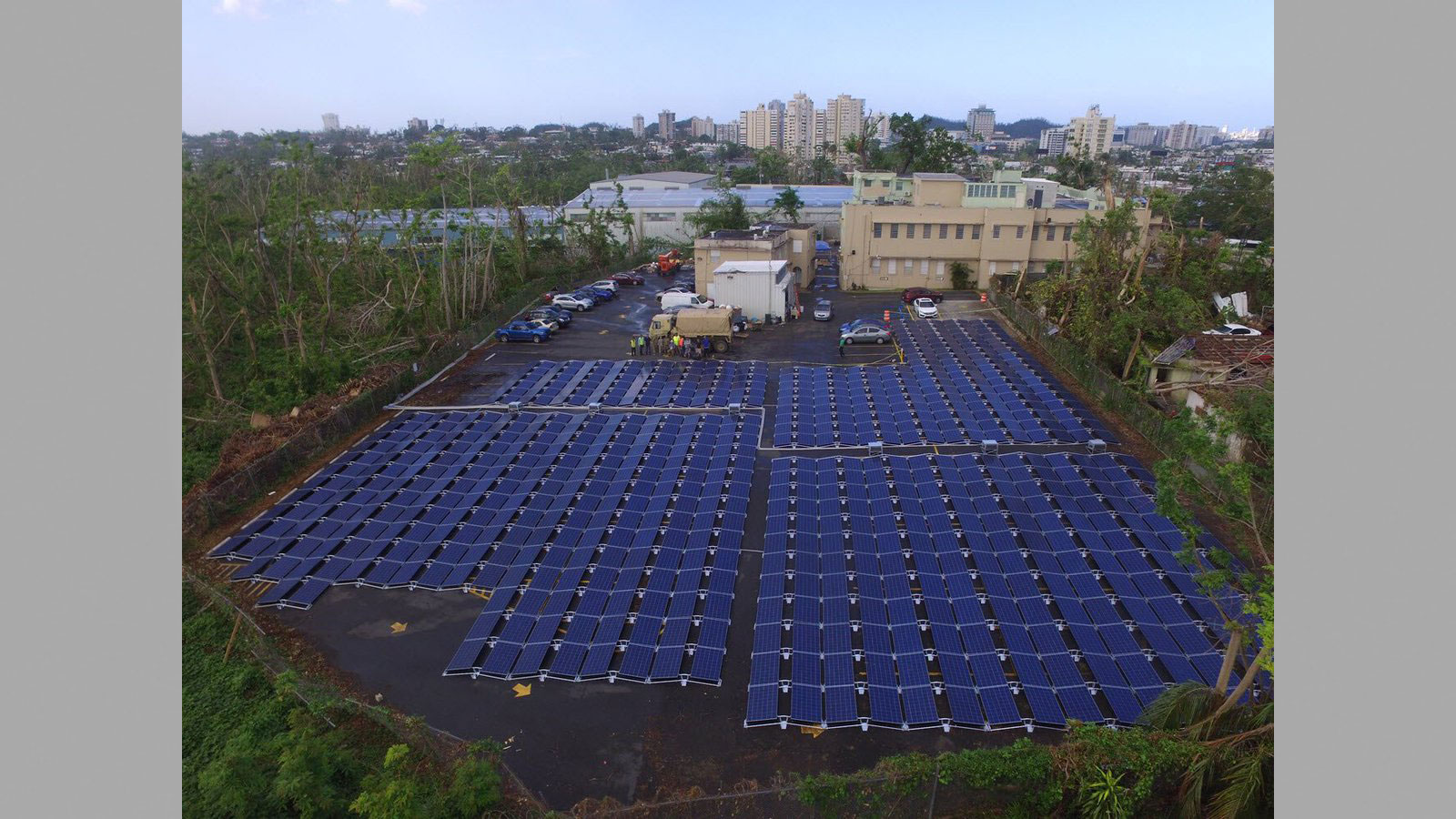 Struggling Puerto Rico Children S Hospital Gets Solar